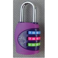 Buy cheap 3digit travel bag lock zinc alloy from wholesalers