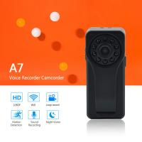 Buy cheap 2018 New Launched Smart and Fashion Mini DV Voice Recorder WiFi P2P Camera Full HD 1080P Portable Digital Audio Recorder from wholesalers