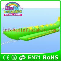 Buy cheap Water float single inflatable banana boat folding boat inflatable boat from wholesalers