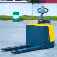 Buy cheap Electric Warehouse Pallet Jack , 2.5 Ton Battery Operated Pallet Truck from wholesalers