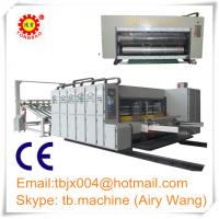 Buy cheap corrugated paperboard carton box printing machine from wholesalers