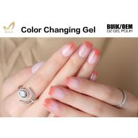 Buy cheap High Glossy Cheap Low Price Soak Off Smooth Surface Color Changing UV Gel Polish from wholesalers