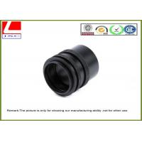 Buy cheap CNC Custom Plastic Parts Black POM Sleeve Used For Sensor System Outdoor product