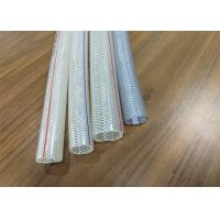 Buy cheap 3 4 Inch High Pressure Hose , 19mm Crystal Braided Air Hose Good Kink Resistance from wholesalers