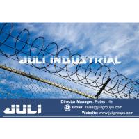 Buy cheap Supply Galvanized barb tape concertina for the security fencing from wholesalers
