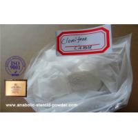Buy cheap Clomiphene Citrate / Clomid Anti Estrogen Steroids Cas No: 50 For Improving Recovery from wholesalers