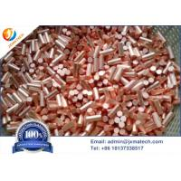 Buy cheap Customized Size 6N Electrolytic Grade Copper Granular Evaporation Material from wholesalers