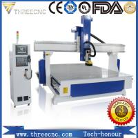 Buy cheap Most popular 4 axis CNC router machineTM1325-4axis.  threecnc from wholesalers