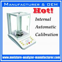 Buy cheap inside auto calibration 0.1mg laboratory analytical precision balance from wholesalers