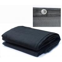 Buy cheap HDPE Knitted Garden Privacy Screen , Tape Yarn Type Black Sun Shade Net from wholesalers