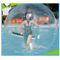 Buy cheap Adult Inflatable Water Walking Ball , Round PVC Inflatable Floating Water Ball from wholesalers