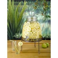 Buy cheap Capacity 8.5L beehive beverage dispenser with blackand sliver rack SGS/FDA from wholesalers