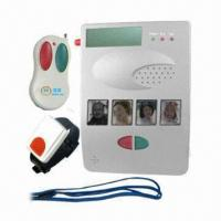 Buy cheap Land line auto dialer alarm calling system with wrist/pendant panic button alert from wholesalers