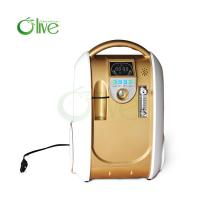Buy cheap OLV-B1 mini portable oxygen concentrator 1-5L flow with battery use outside from wholesalers
