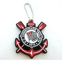 Buy cheap cheap price Custom soft pvc rubber personalized keychains with 2d/3d color design China maker from wholesalers