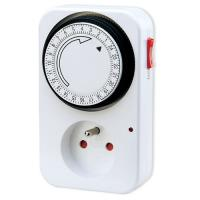 Buy cheap 230V 16A Programmable Digital Light Timers , 24 hour Timer switch For hydroponics from wholesalers