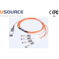 Buy cheap 100G ethernet cable splitter 100G AOC Cable QSFP28 to 4x 25G SFP28 from wholesalers