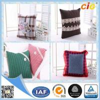 Buy cheap Custom Printing Polyester  Home Decorative Car / Sofa Decorative Cushion Covers With Filling product