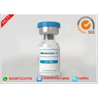 Buy cheap Melanotan I / MT-1 HGH Human Growth Peptides Fragment Lyophilized Powder from wholesalers