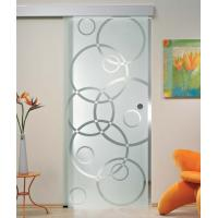 Buy cheap 5/16 Tempered Sliding Glass Doors With Smooth Surface Safety from wholesalers