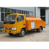 Buy cheap 3000L 5000L Small Tanker Truck , High Pressure Sewer Cleaning Truck For Pipe  Flushing from wholesalers