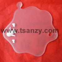 Buy cheap Transparent drop shape aircraft coasters from wholesalers