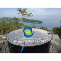 Buy cheap Economical Enamel Tank For Industrial Water Storage / Glass Coated Steel Tanks from wholesalers