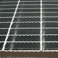 Buy cheap China supplier galvanized steel grating / steel bar grating welded steel grating for pool grating from wholesalers