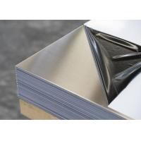 Buy cheap A3 size 0.8mm mirror lamination stainless steel plate / sheet 480mm length from wholesalers