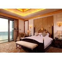 Buy cheap Wooden luxury Hotel Bedroom Furniture With SGS E1 MDF Board For Sale from wholesalers