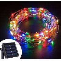Buy cheap Customized DIY Solar LED String Lights Quick Installation For Business Decoration from wholesalers