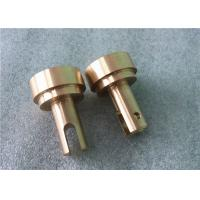Buy cheap Precision Central Machinery CNC Brass Machined Parts Gold Finish -/+ 0.001mm Tolerance from wholesalers