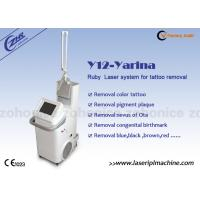 Buy cheap High Energy Nd Yag Laser Tattoo Removal Machine for body tattoo from wholesalers