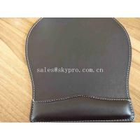 Buy cheap OEM Customized Printing Office PU Leather Mouse Mat Fashion Computer Mouse Pad from wholesalers