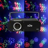 Buy cheap lightweight easy carry pure diode 1 watt rgb laser projector price from wholesalers