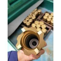 Buy cheap High Speed Rock Magnetic Retractable Drill Bit Golden Color 34-115mm Dia from wholesalers