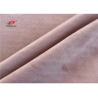 Buy cheap Warp Knitted 160gsm Polyester Suede Fabric For Shoes from wholesalers