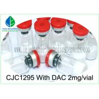 Buy cheap Bodybuilding Human Growth White Peptide Powder 2mg CJC1295 With DAC from wholesalers