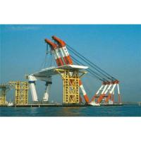 Buy cheap Finland,France,germany floating crane sell charter supply crane barge 100T TO from wholesalers