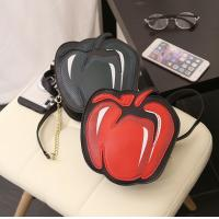 Buy cheap New fashion creative personality female cute cartoon fruit shoulder bag diagonal chain bag from wholesalers