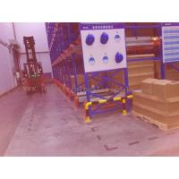 Buy cheap 82FT Depth X  39FT Height Radio Shuttle Racking Blue + Orange Warehouse Storage System from wholesalers