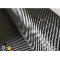 Buy cheap 3K 240gsm Carbon Fiber Cloth Twill Weave Decoration Silver Coated Cloth from wholesalers