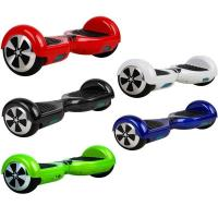 smart self balancing electric scooter two wheeled self balancing scooter 6.5inch LED
