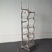 Buy cheap Beverage Or Wines  Floor Standing Rack Store Display Stand Cutomized Color from wholesalers
