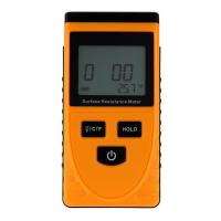 Buy cheap GM3110 Anti-static Data Handheld Accurate  Surface Resistance Meter Earth Resistance Meter LCD Display Ohm Meter from wholesalers