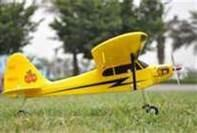 Buy cheap 2.4Ghz Mini Piper J3 Cub Radio Controlled Toy 4ch RC Airplanes with High - Wing Trainer from wholesalers