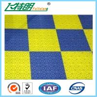 Buy cheap Exterior Interlocking Rubber Floor Tiles Plastic Tile Flooring PUR Solid from wholesalers