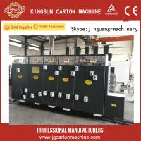 Buy cheap corrugated box printer slotter dieccutter stacker machine made in china from wholesalers