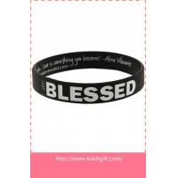 Buy cheap wholesale OEM design silicone wristband from wholesalers