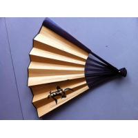 Buy cheap Screen Printing Personalized Silk Fans , Silk Folding Fans For Wedding Favors from wholesalers